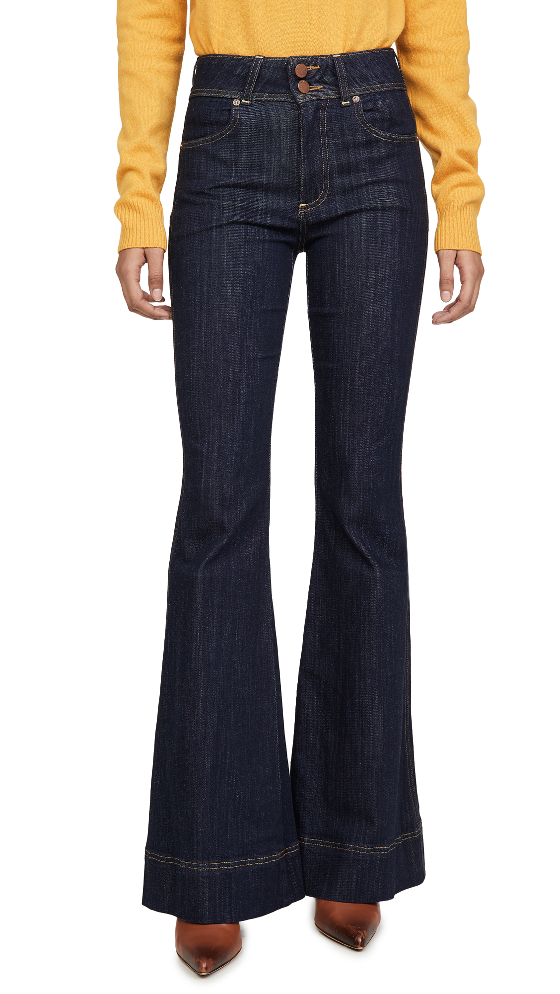 Buy ALICE + OLIVIA JEANS online - photo of ALICE + OLIVIA JEANS Beautiful High Rise Jeans