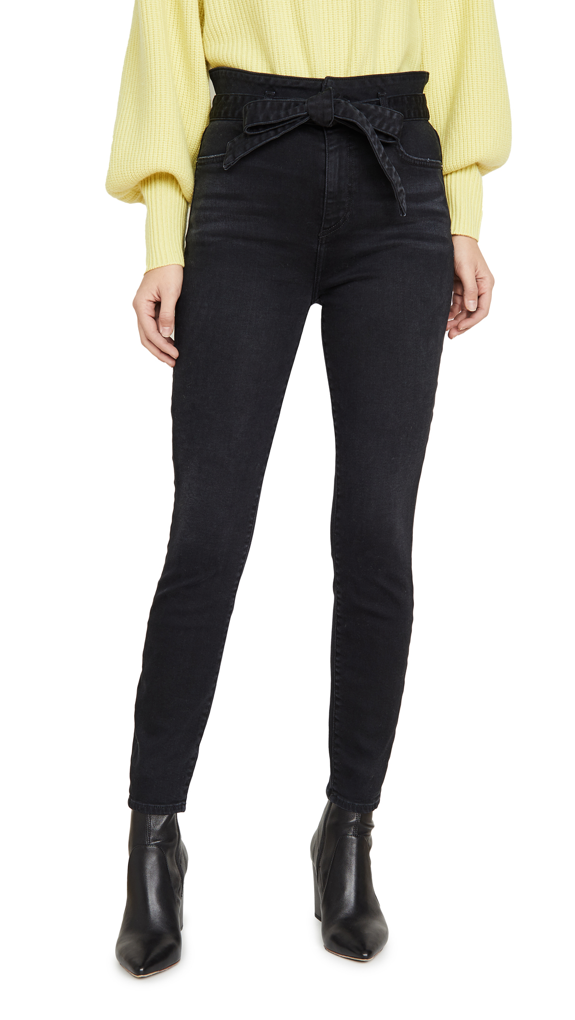 Buy ALICE + OLIVIA JEANS online - photo of ALICE + OLIVIA JEANS Good High Rise Skinny Jeans