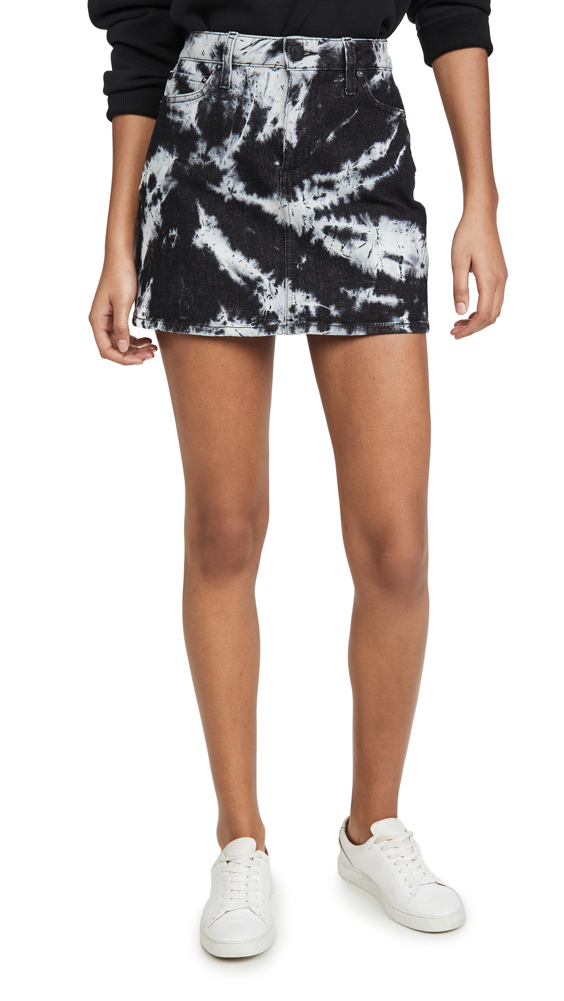 Buy ALICE + OLIVIA JEANS online - photo of ALICE + OLIVIA JEANS Good High Rise Miniskirt