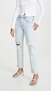 ALICE + OLIVIA JEANS Amazing High Rise Boyfriend Jeans