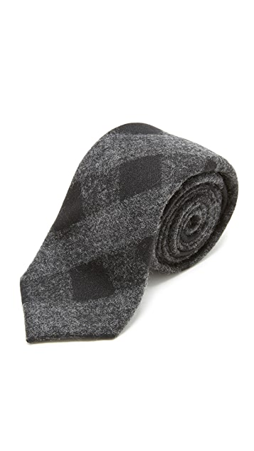 Alexander Olch The Tuxedo Wool Gingham Tie