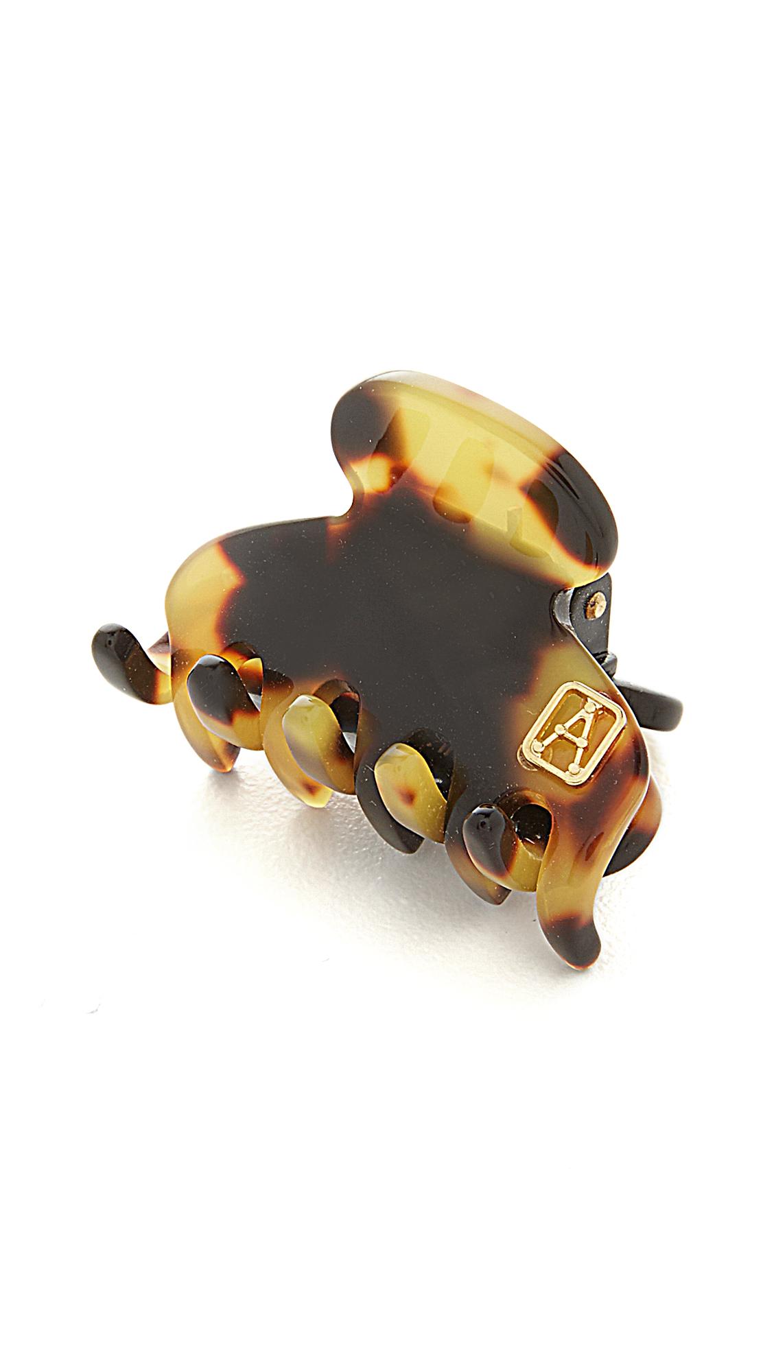 Alexandre de Paris Small Jaw Clip - Tokyo Tortoise