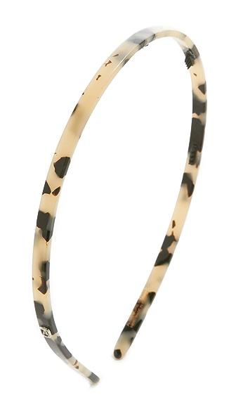 Alexandre de Paris Thin Headband - Albinos