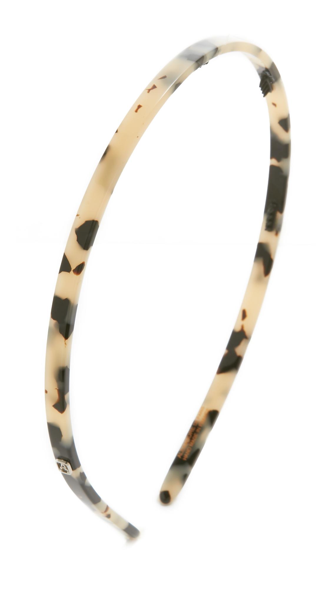 Alexandre De Paris Thin Headband - Albinos at Shopbop