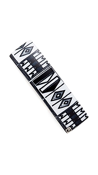 Alexandre de Paris Tam Tam Hair Clip - Black/White