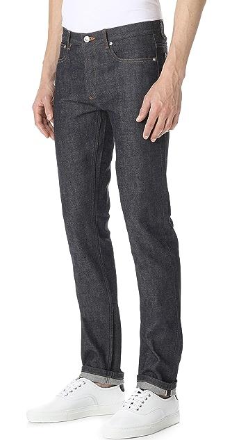 A.P.C. Petit Standard Indigo Jeans