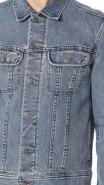 A.P.C. Washed Stretch New Denim Jacket