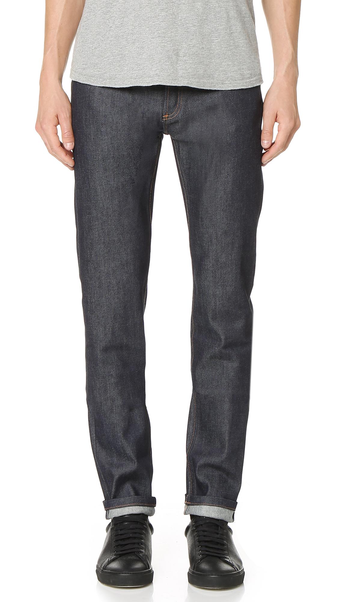 Petit Standard Brut Stretch Jeans