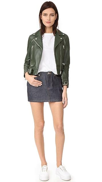A.P.C. Denim Miniskirt