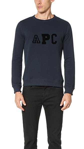 A.P.C. College Sweatshirt