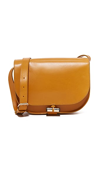 A.P.C. June Saddle Bag - Mustard