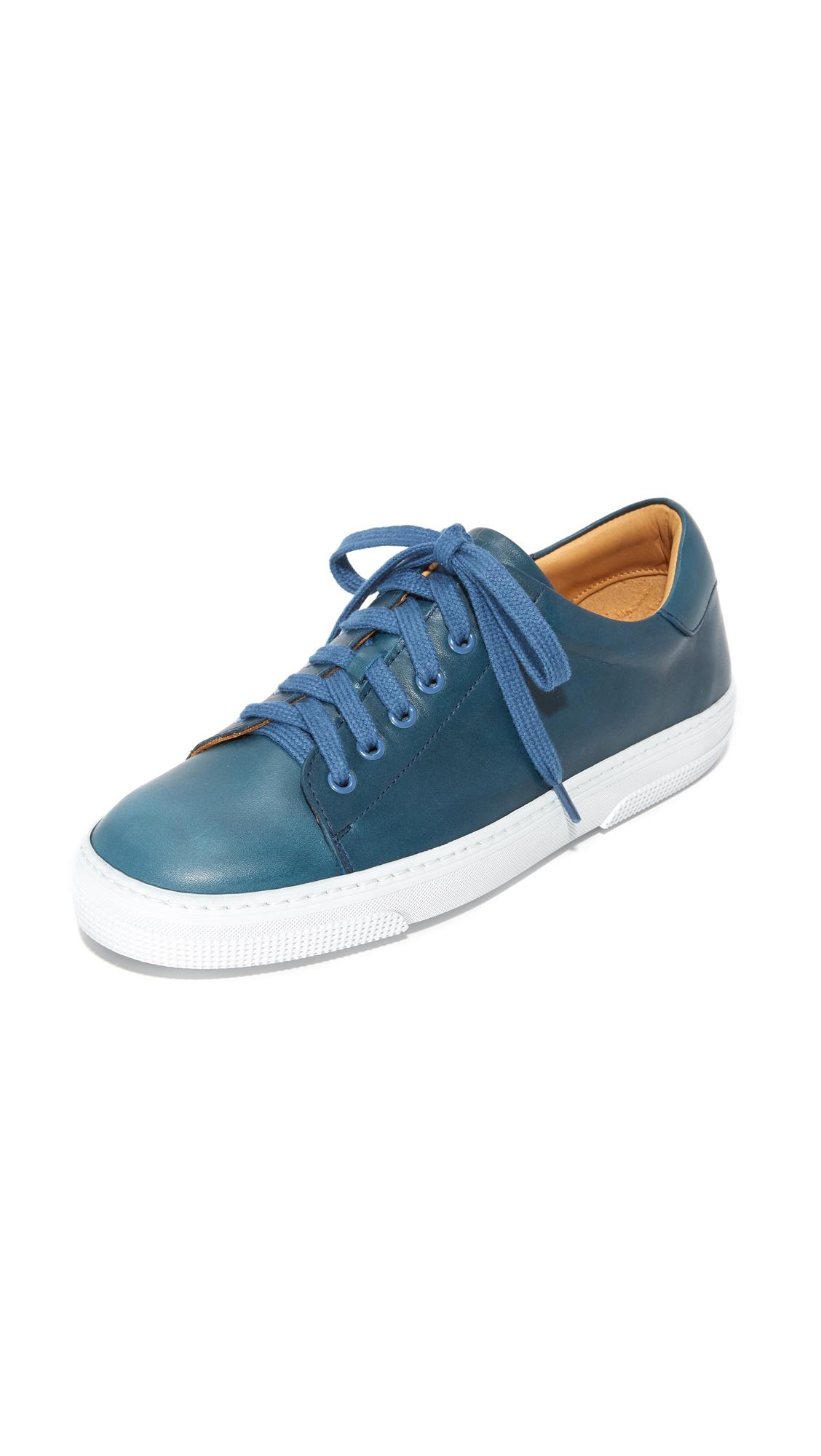 A.P.C. Steffi Tennis Sneakers - Bleu Gris