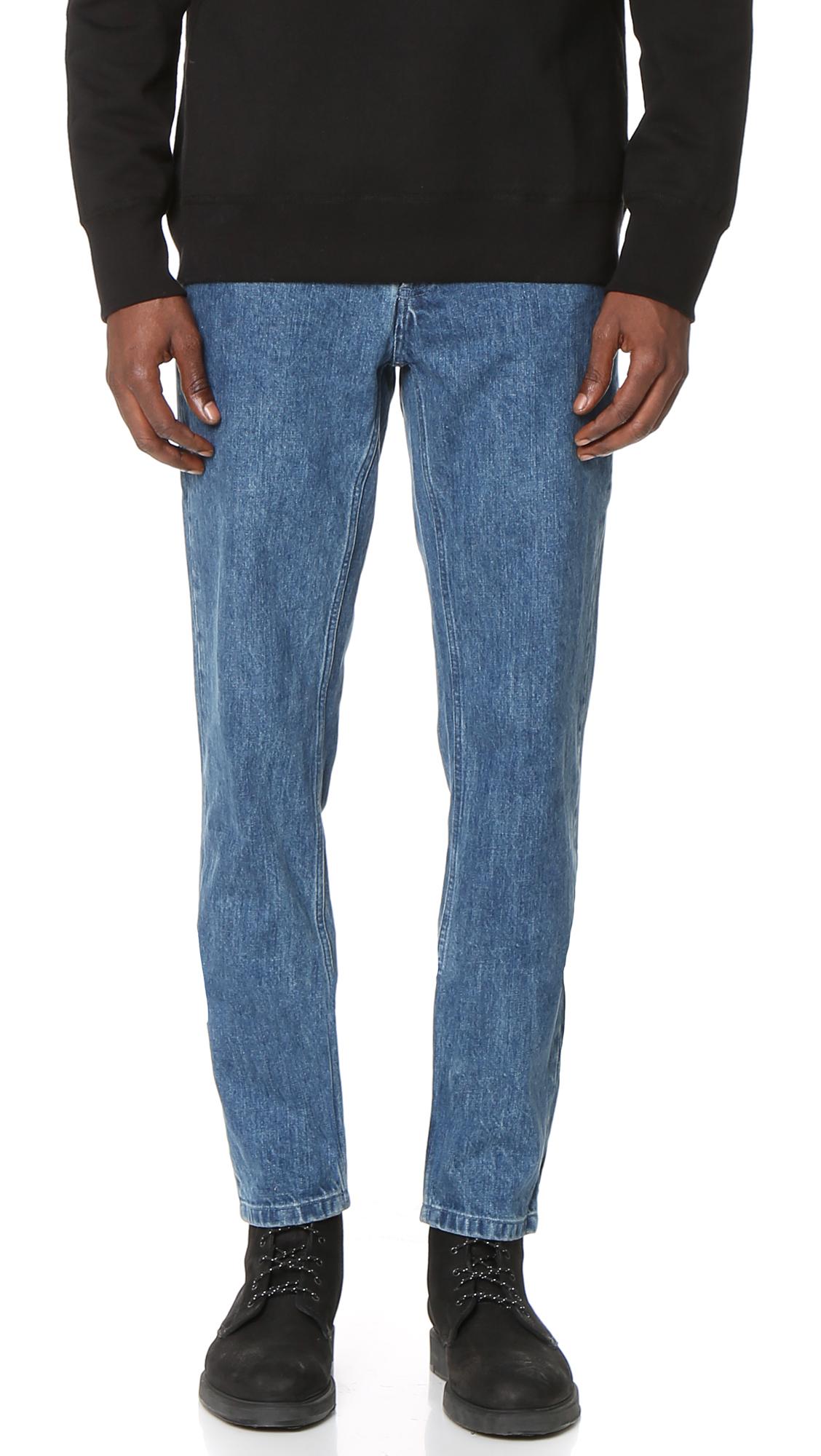 367442280b4d A.P.C. Low Standard Jeans   EAST DANE