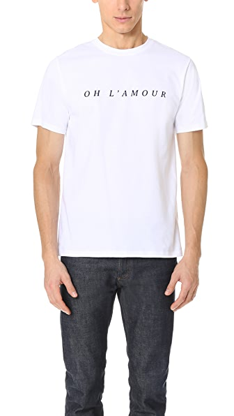 A.P.C. Oh L'Amour Tee