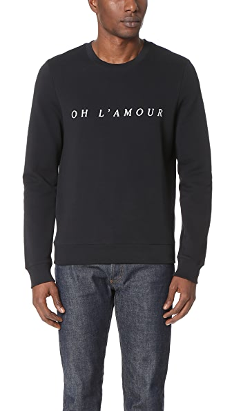 A.P.C. Oh L'Amour Sweatshirt