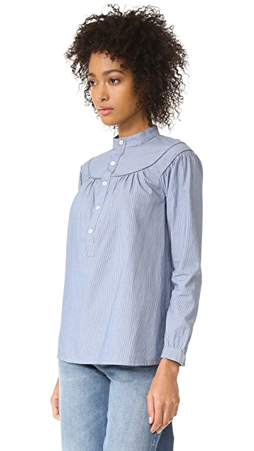 A.P.C. Classic Ingalls Striped Shirt