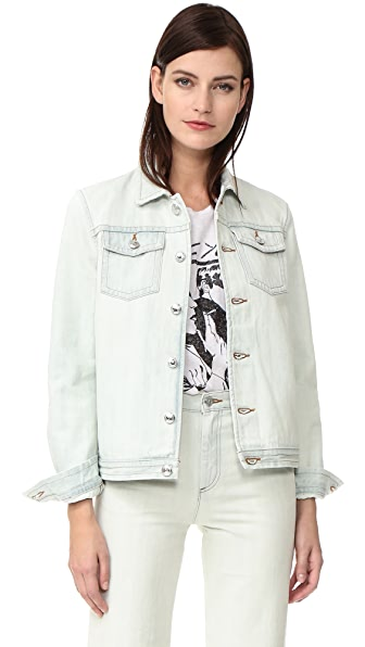 A.P.C. Shirley Denim Jacket In Bleached Out