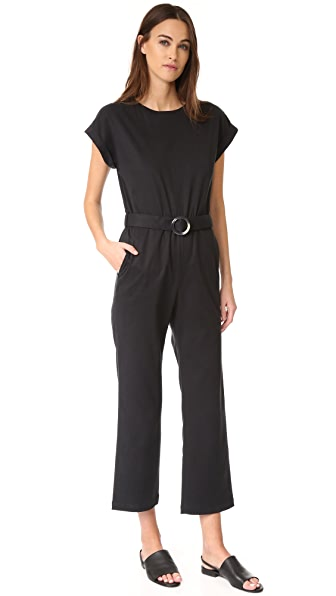 A.P.C. Pretty Jumpsuit - Faux Noir