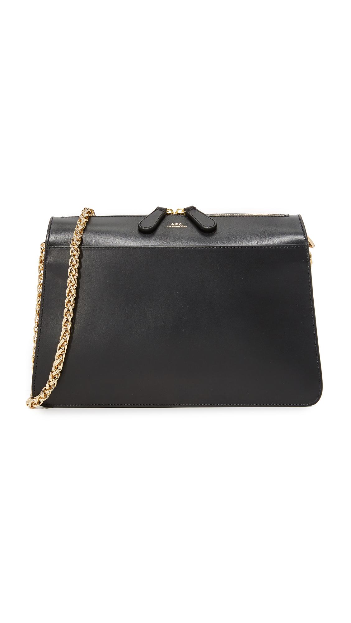 apc female apc sac ella bag noir