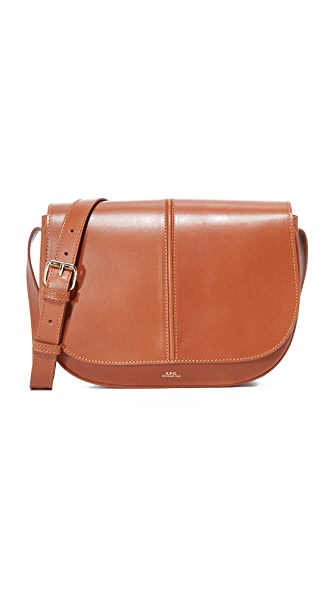 A.P.C. Besace Nelly Bag In Noisette