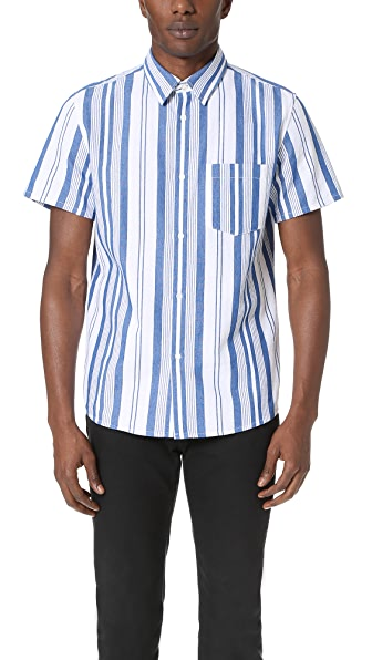 A.P.C. Short Sleeve Bryan Shirt