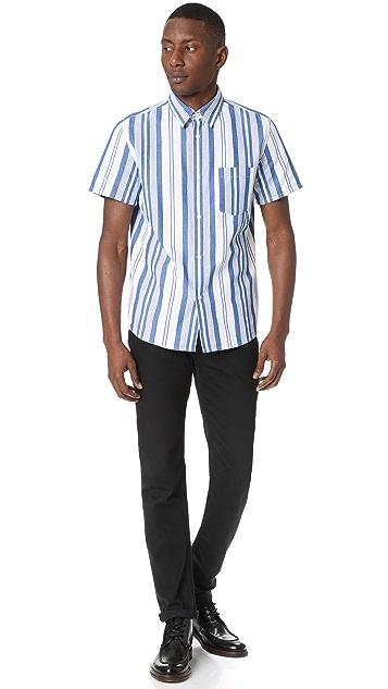 A.P.C. Short Sleeve Bryan Shirt