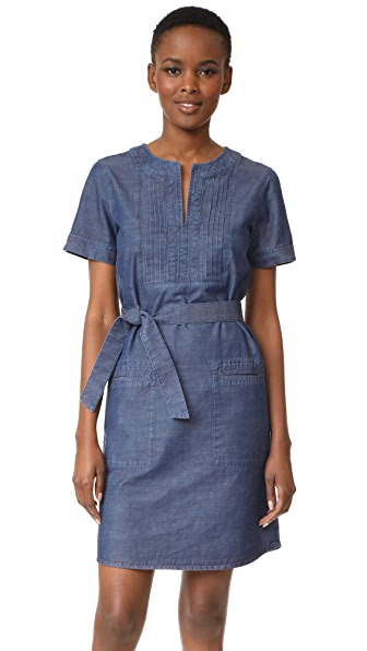 A.P.C. Jess Dress - Indigo Delave