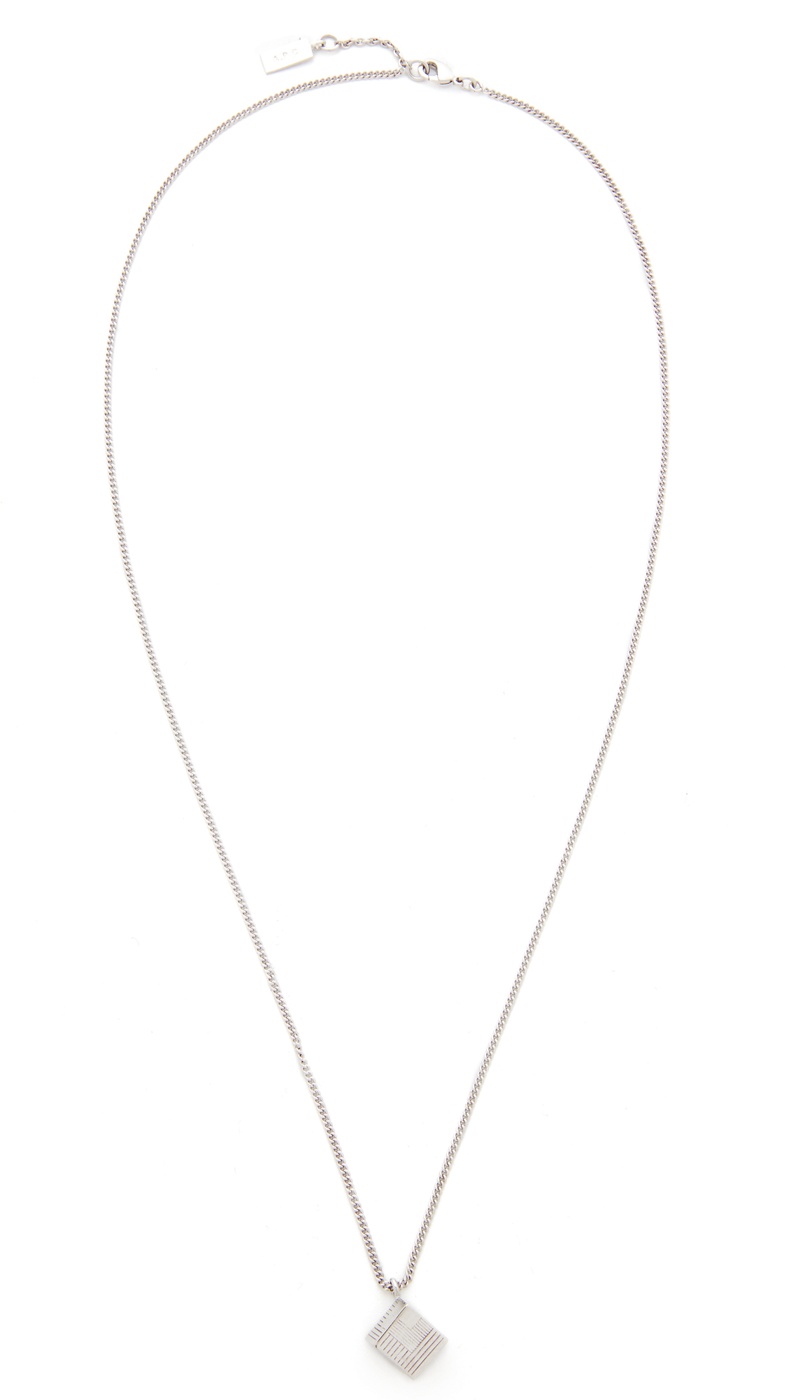 andre in necklace apc brass andr