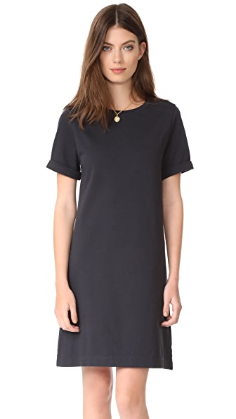 A.P.C. Beckie Dress - Faux Noir