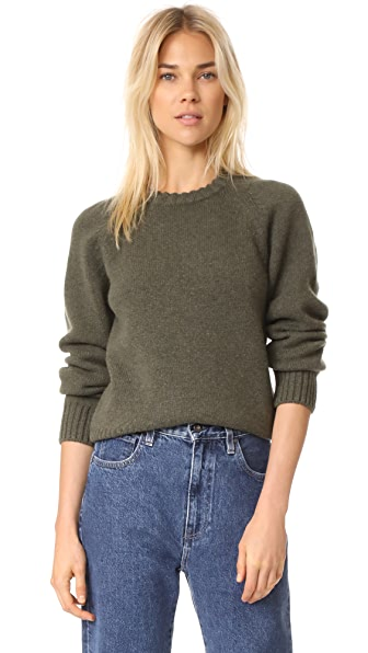 A.P.C. Pull Stirling Sweater - Kaki