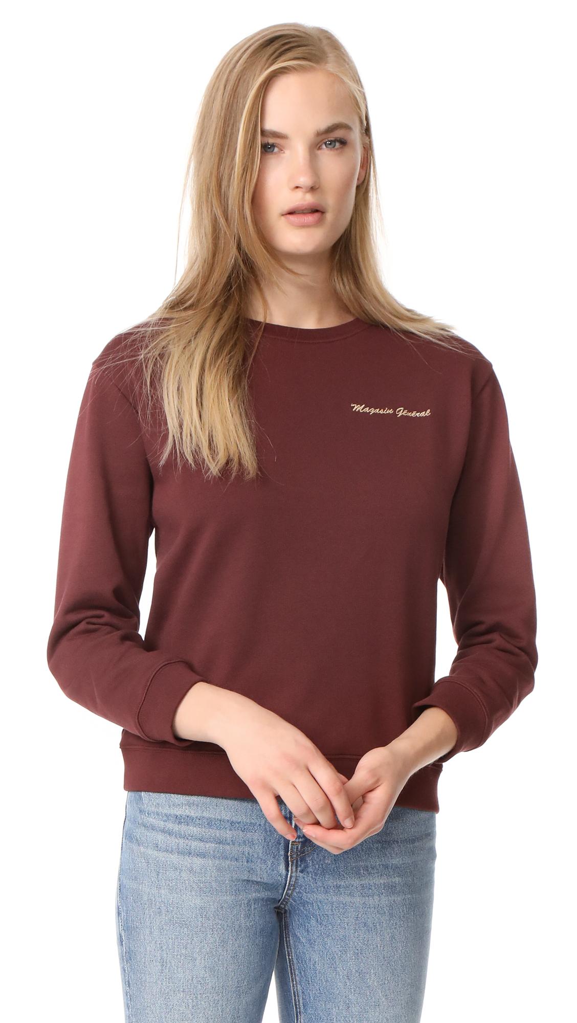 A.P.C. Hiver 1987 Sweatshirt - Bordeaux