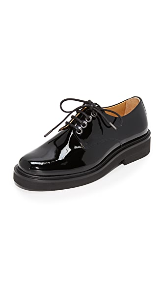 A.P.C. Autumn Derby Oxfords - Noir