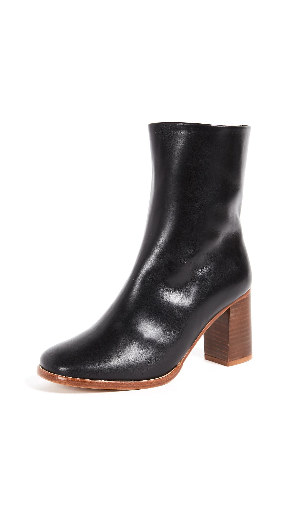 A.P.C. Flavie Boots - Noir