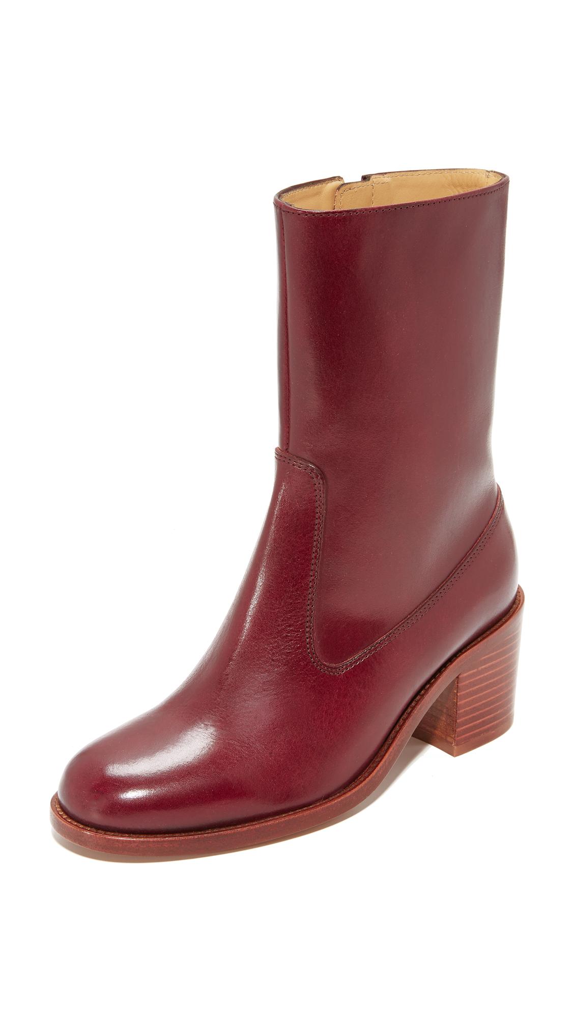 A.P.C. Eva Boots - Bordeaux