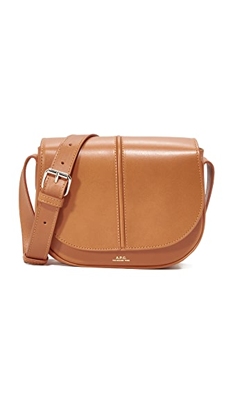A.P.C. Betty Saddle Bag - Camel