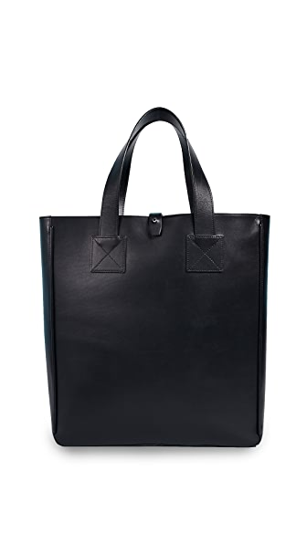 A.P.C. Malone Tote In Noir