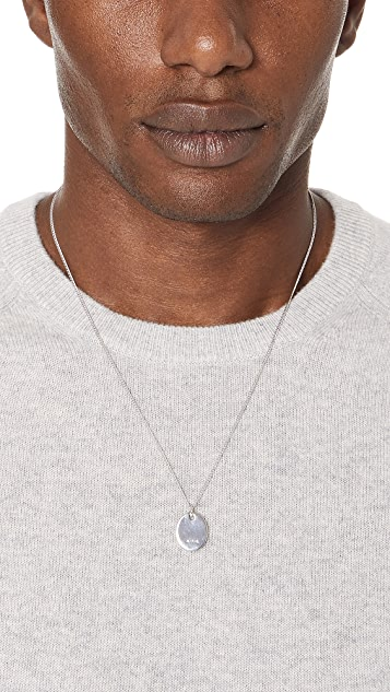 A.P.C. Pendant Necklace