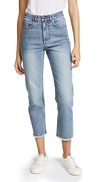 A.P.C. Standard Jeans with Fringe at Shopbop