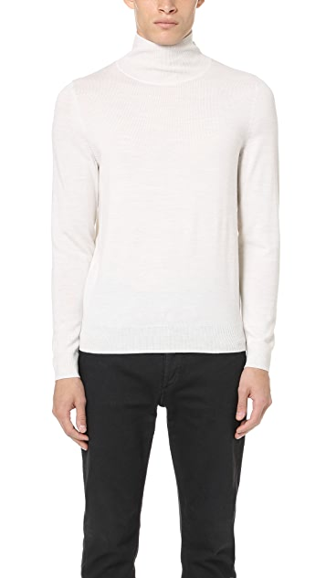 A.P.C. Dundee Mock Neck Sweater