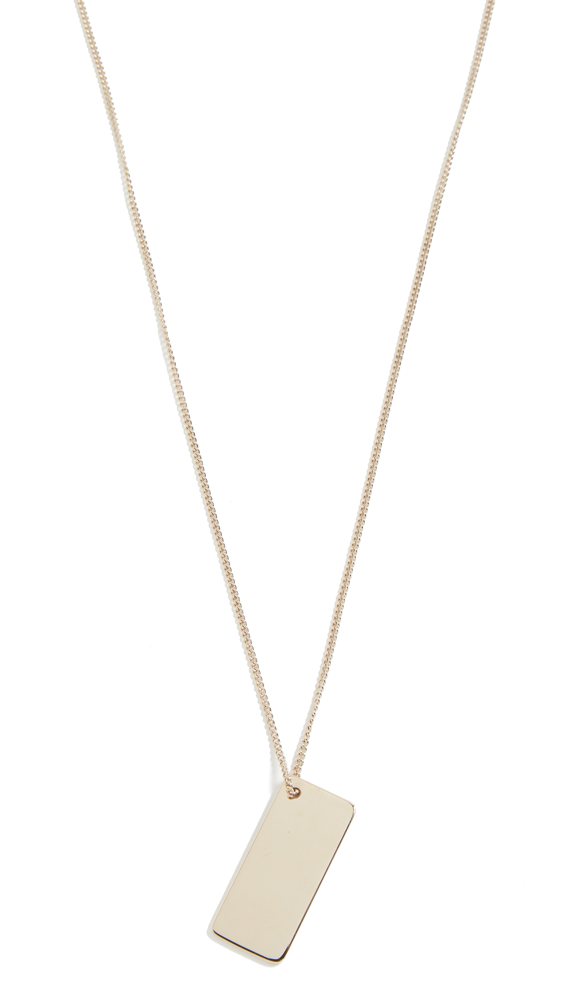 jewelry a c clint metallic necklace p product gallery apc lyst in normal gold