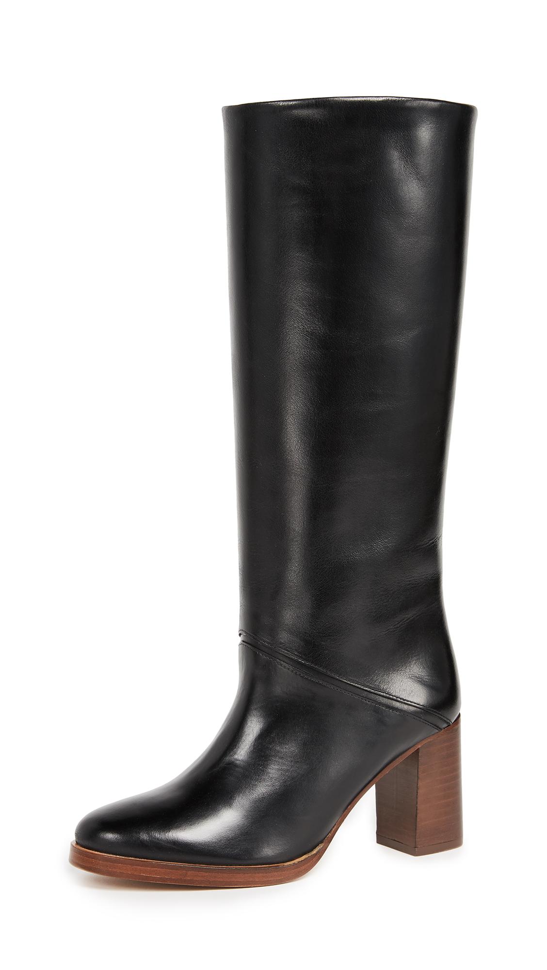 A.P.C. Violaine Boots - Noir