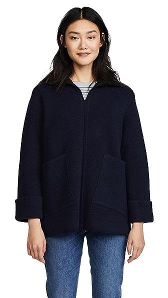 A.P.C. Venetia Sweater In Dark Navy