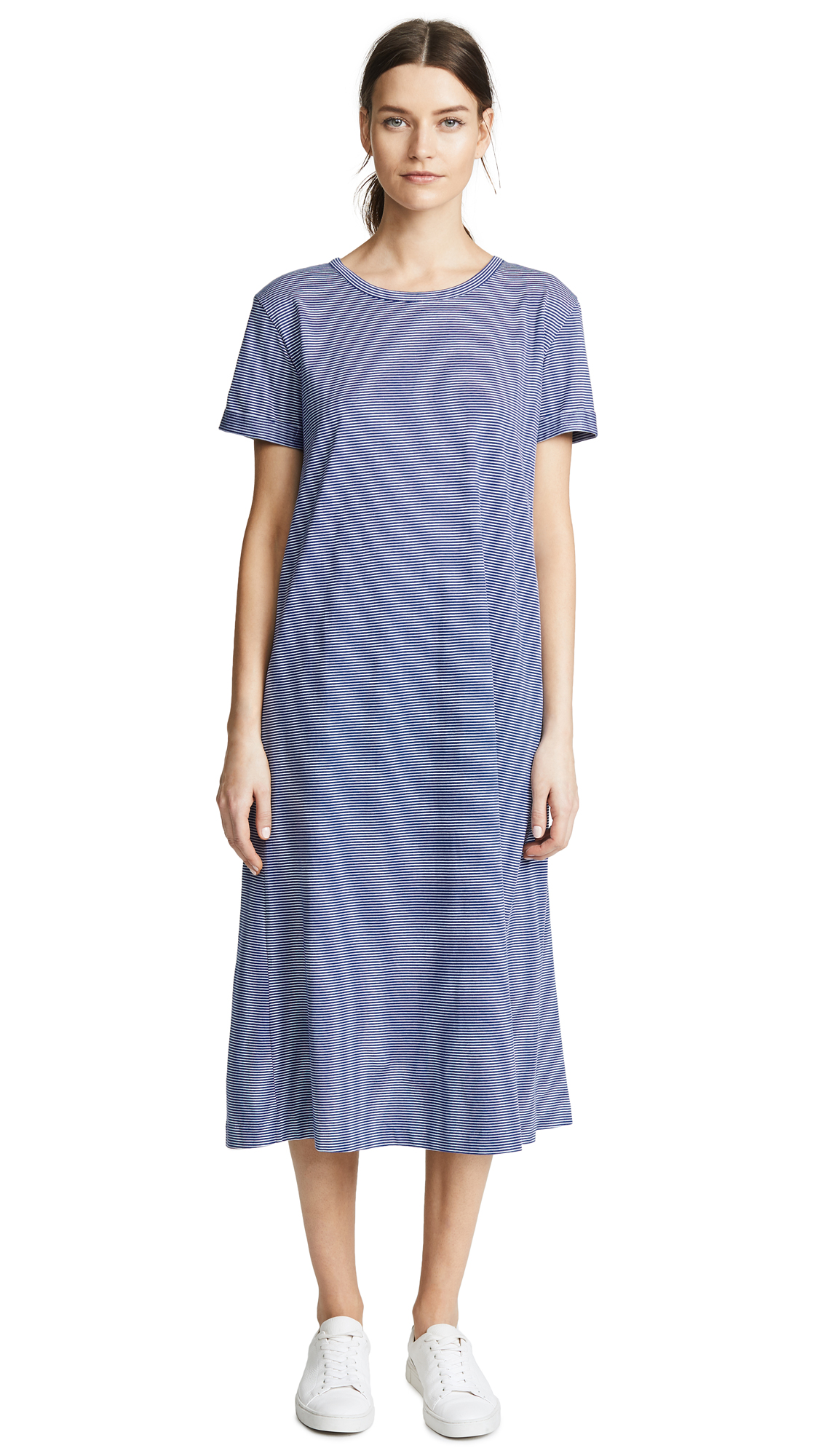 A.P.C. Lala Dress In Bleu Fonce