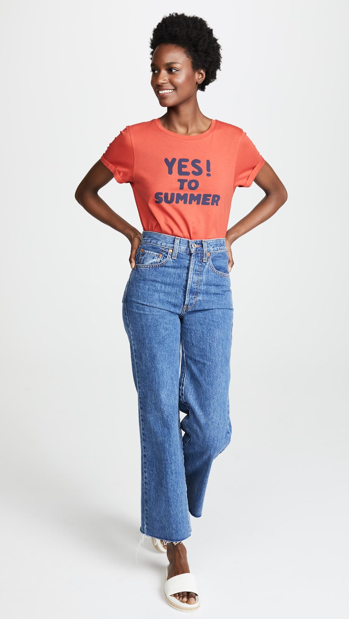 a3bc0e70d87b A.P.C. Yes To Summer T Shirt