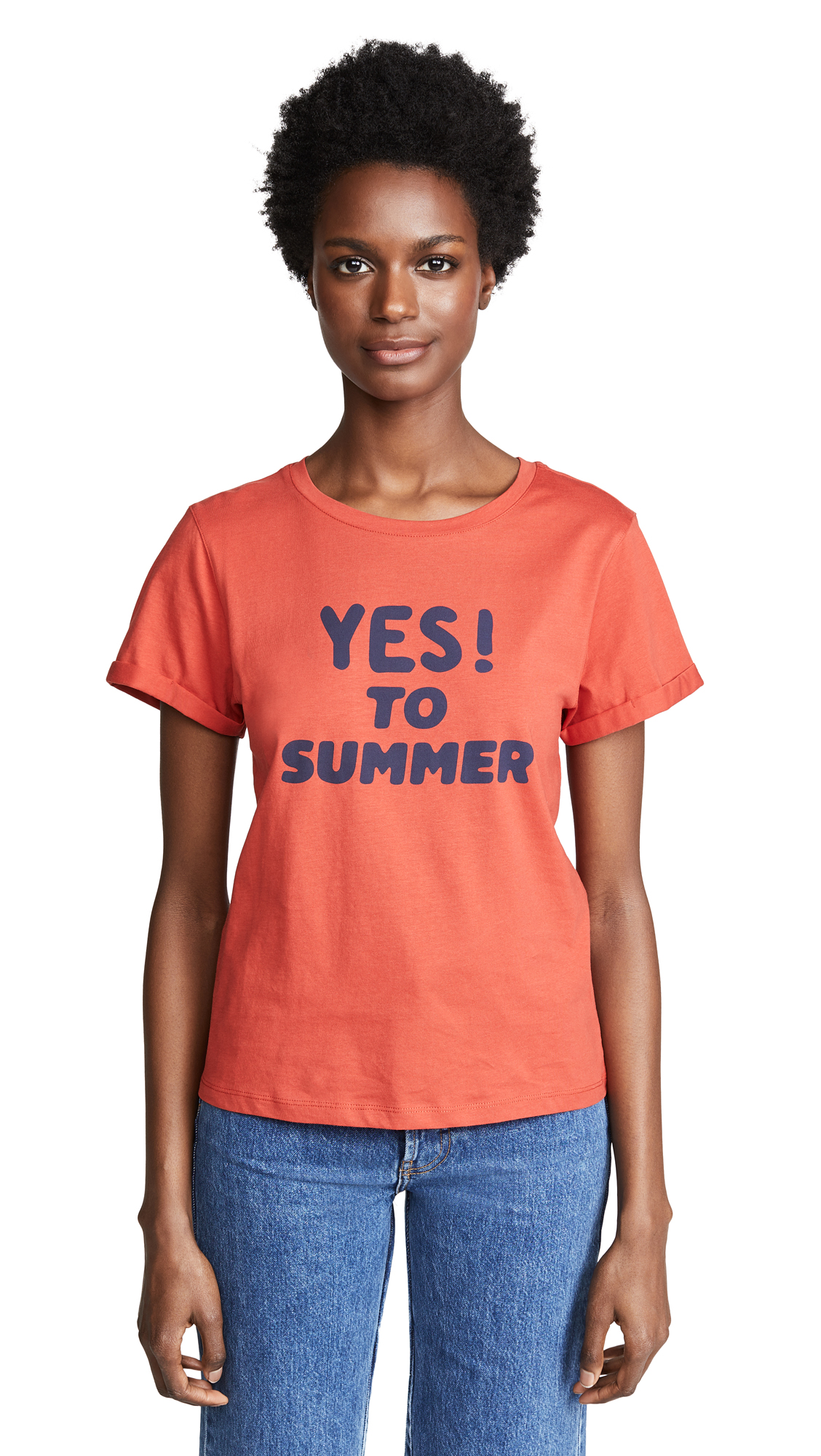 13393bc4cfc5 A.P.C. Yes To Summer T Shirt