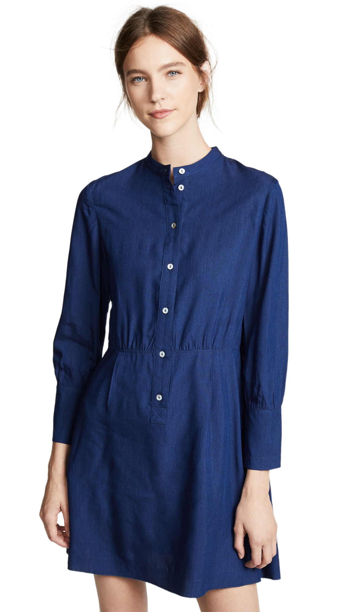A.P.C. Kimya Dress In Indigo