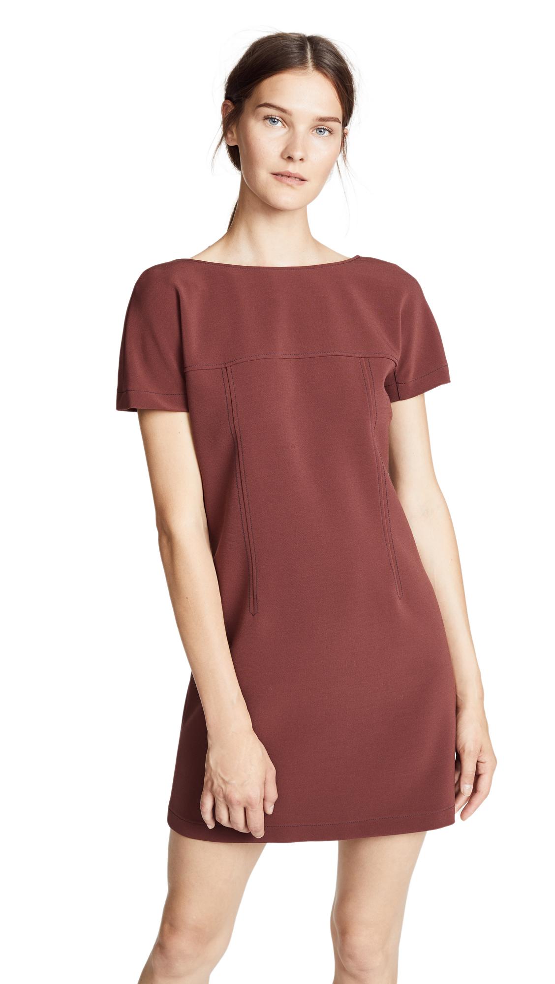 A.P.C. Carter Dress In Vino