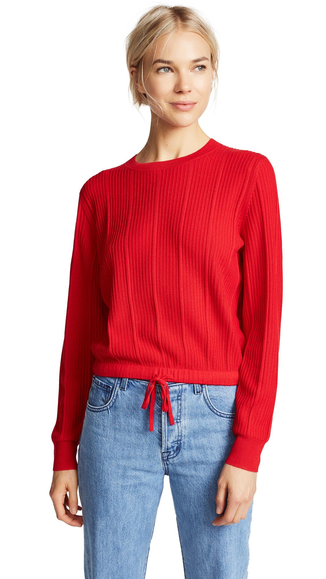 A.P.C. Taeko Sweater In Rouge