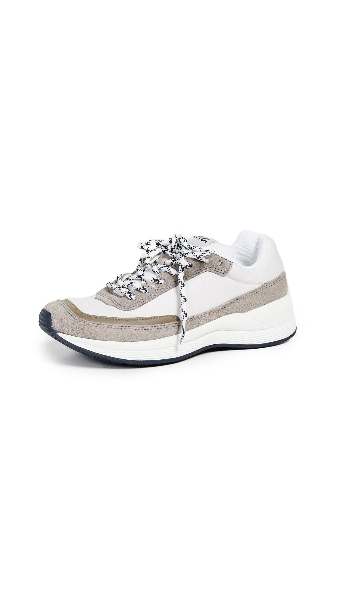 A.P.C. Femme Running Sneakers - Blanc