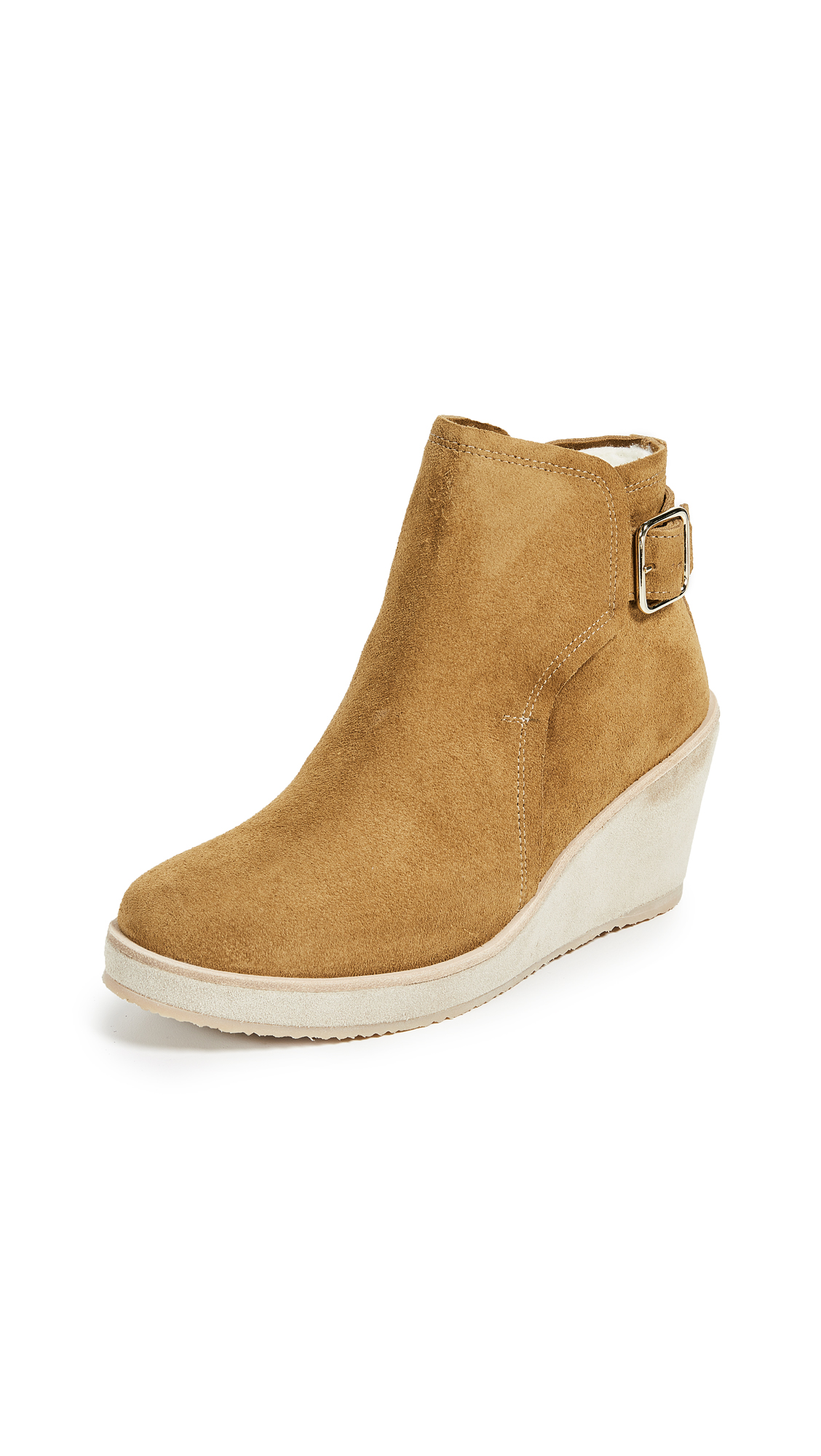 A.P.C. Virginie Boots - Camel
